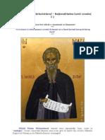 Sfântul Maxim Mărturisitorul rationalitatea creatiei