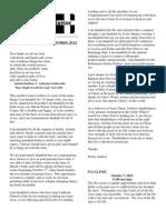 Newsletter September 2012 Whole