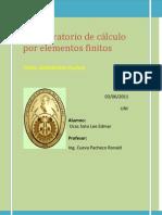 3laboratorio de c+ílculo por elementos finitos