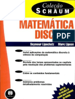 Matematica Discreta (Colecao Schaum 2ed) - Seymour Lipschutz e Marc Lipson