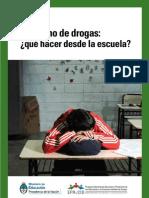Consumo de drogas, qué hacer desde la escuela?