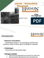 Reverse Innovation Playbook