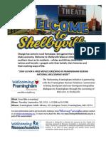 Framingham Shelbyville- Flyer