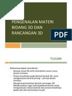 Kuliah 1 Nirmana Ruang PDF