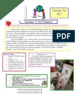 Newsletter Sept 14 12