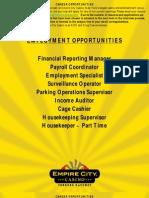 Career Opportunities 07-02-12