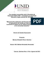 Manual de Procedimientos Del Promotor Educativo
