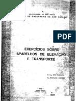 Exercicio sobre maquinas de elevação e transporte