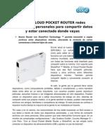 D-Link lanzó el nuevo Cloud Pocket Router