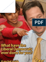 What Have the Lib Dems Done?