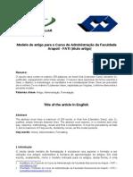 Modelo de Artigo FATI-ADM1