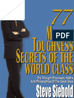 77 Mental Toughness Secrets of the World Class