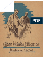 Ball, Kurt - Der blinde Bauer - Novellen (1939, 95 S., Scan-Text, Fraktur)