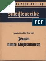 Ethel, Mary - Frauen hinter Klostermauern - Ein Blick in die Nonnenklöster (1940, 116 S., Scan-Text, Fraktur)