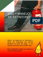 Uso y Manejo de Extintores Velez