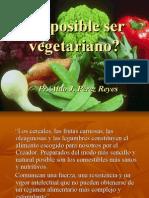Es Posible Ser Vegetariano