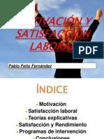 Motivacin y Satisfaccin Laboral