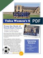 Tulsa Women' Soccer Newsletter