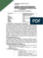 Trabajo de Nivelacion Del Modulo VI Diseno Curricular - Maria Del Pilar Aldayuz PEredo DIPLOMAD