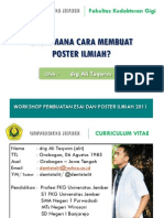 Workshop Poster Ilmiah 20112