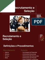 Recrutamento e Seleção - Apresentação em Slides