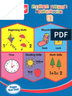Kindergarten Workbook 1