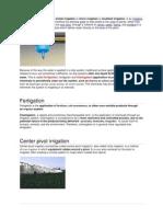 Irrigation Basics