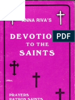 Anna Riva Devotion to the Saints