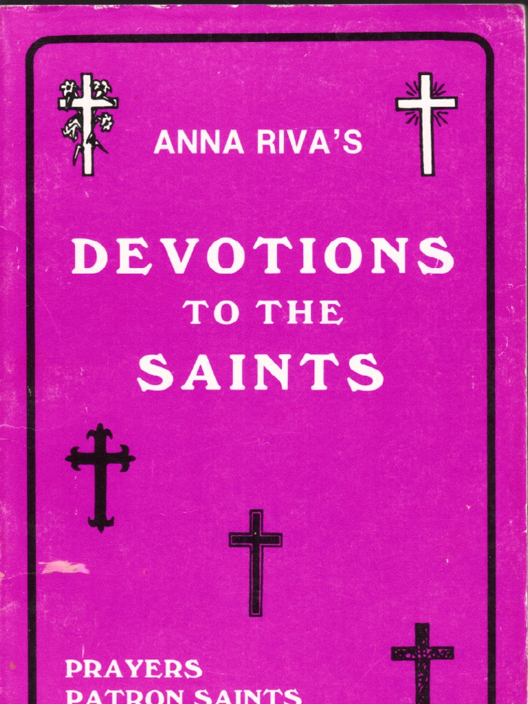 Anna Riva Devotion to the Saints | Mary, Mother Of Jesus | Saint