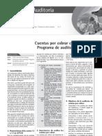 Cuentas por cobrar comerciales - Programa de auditoría sugerido
