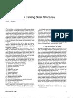 Field Weldingto Existing Steel Structures
