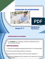 Administracion de Inventarios Expo Finanzas