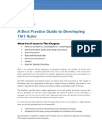 TM1 Rules White Paper Best Practice Rules