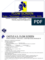 Castle High Flow Screen- Coverdale