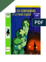Bonzon P-J 07 Les Six Compagnons Les Six Compagnons et le Piano à Queue 1964