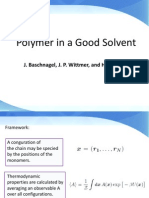 Polymer in Good Solvent