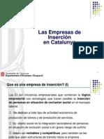 Empresas de inserción en Cataluna