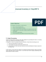 tally erp 9.0 material Advanced Inventory in tally erp 9.0