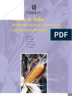 Maize in India