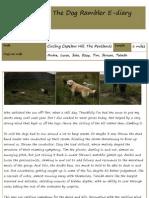 The Dog Rambler E-diary 13 September 2012