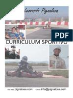 Curriculum Sportivo - Vito Leonardo Pignalosa