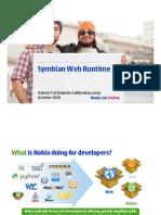 Symbian Web Runtime