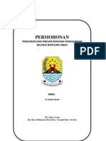 Permohonan Pencairan dan Rincian Rencana Penggunaan Belanja Bantuan Hibah