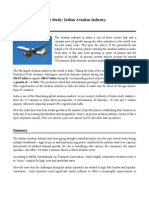 A Case Study on Indian Aviation Industry
