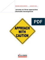 5Both ENDS Working Paper Approach With Caution