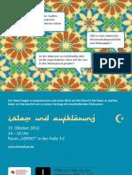 Islam und Aufklärung zur Frankfurter Buchmesse 2012