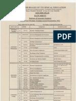 DAE Schedule