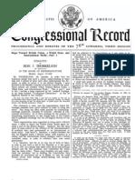Steps Toward British Union, A World State & International Strife | Hon J Thorkelson HR, Congressional Record (1940)