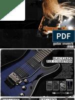 Schecter 2012 International Catalog