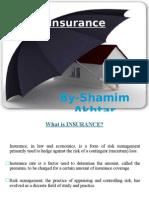 Insurance By Shamim Akhtar
